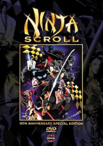 Amazon.com: Ninja Scroll (10th Anniversary Edition): Kôichi ...