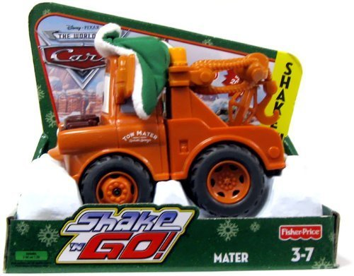 - Disney Pixar Cars Shake N Go Limited Edition Mater in Winter Attire by Fisher-Price