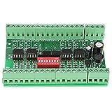 Level Translator, 5V/24V 8 Channel Voltage Level Translator SquareWave NPN/PNP to NPN Signal Converter Module, Voltage Level Converter Board,10MHZ