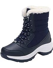 Botas de Nieve para Mujeres,BBestseller Zapatos de Viaje Antideslizantes al Aire Libre, además