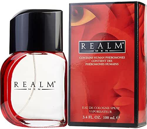 Erox Realm Cologne Spray for Men, 3.4 Ounces - Pack of 2