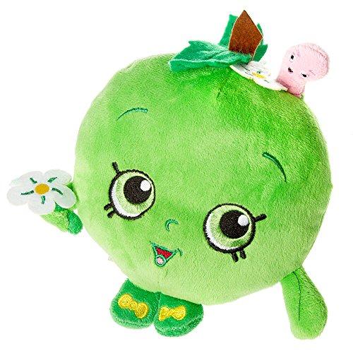 """Claire's Accessories Shopkins Plush Green Apple - 7"""""""