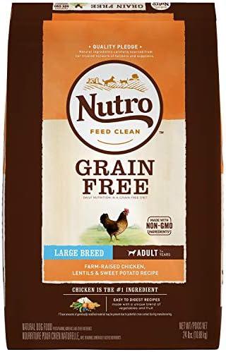 Nutro Grain Free Large Breed Adult Dry Dog Food