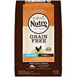 NUTRO GRAIN FREE Adult Large Breed Dry Dog Food Farm-Raised Chicken, Lentils and Sweet Potato, 24 lb. Bag