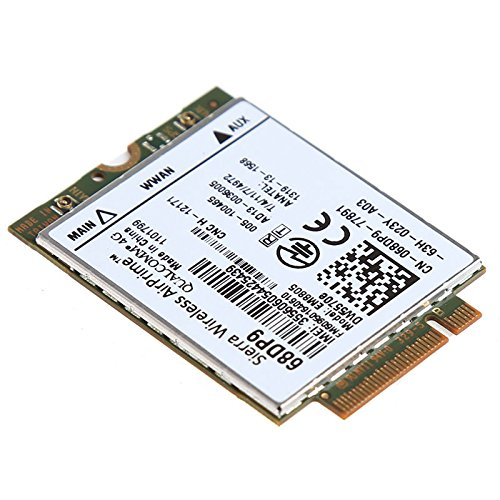 DW5570e Mobile Broadband module EM8805 Airprime 68DP9 HPSA+ WWAN NGFF(M.2) Card Compatible For Dell E7250 by PJCARD