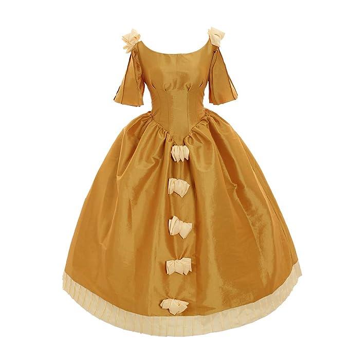 Amazon.com: 1791s Vestido medieval para mujer, color ...