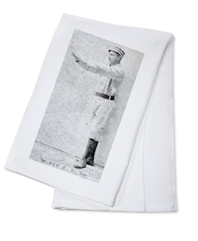 マイナーリーグ – ジョージセントジョセフMcVey – 野球カード Cotton Towel LANT-23601-TL Cotton Towel  B0184BAB4G