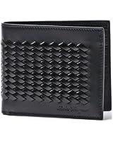 Salvatore Ferragamo 2 fold wallet LEATHER NERO black