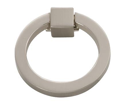 Hickory Hardware P3190 SN Camarilla Ring Pull, Satin Nickel