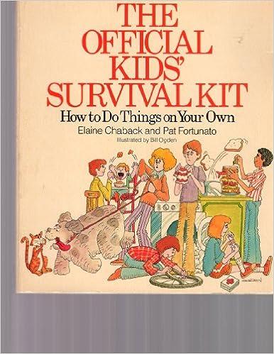 Official Kids Survival Kit