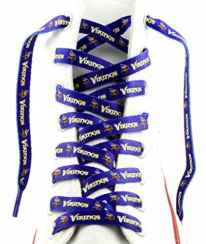 Minnesota Vikings Shoe Laces - Minnesota Vikings Shoe