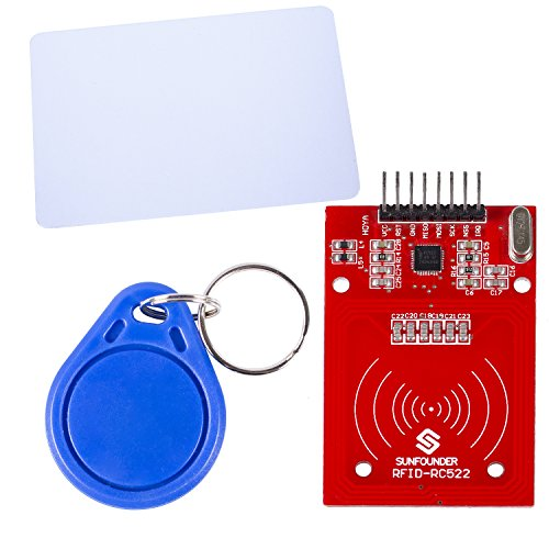 SunFounder Mifare RC522 Card Read Antenna RF Module RFID Reader IC Card Proximity Module for ()