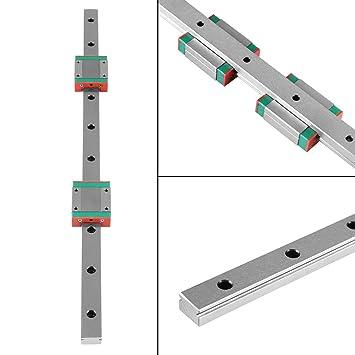 Guía lineal en miniatura, 1pc 400mm/15.7in Guía de riel deslizante ...