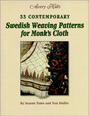 33 Contemporary Swedish Weaving Patterns for Monk's Cloth by Avery Hill