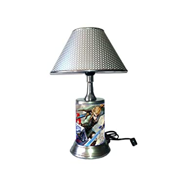 JS The Legend of Zelda, Link Lamp with Chrome Shade