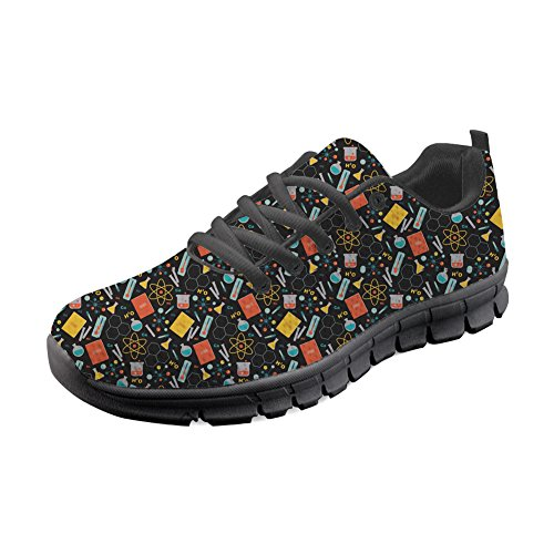 HUGS IDEA Y-H853AQ-B, Chaussures de Running pour Homme Science 3