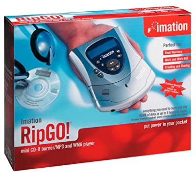 Imation RipGO! Mini CD-R Burner & Digital Audio Player by Imation
