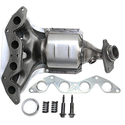 Catalytic Converter compatible with Honda Civic 01-05 Front With Exhaust Manifold
