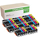 Inkjetcorner Compatible Ink Cartridges Replacement for PGI-250XL CLI-251XL PGI 250 CLI 251 for use with MX922 MG5520…