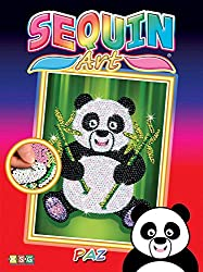 Sequin Panda Sparkling Arts/Crafts Kit