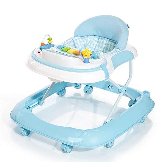 Axdwfd Andador ABS Baby Walker, Anti-colisión Rollover de ...