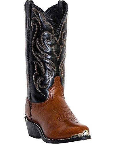 Cowboy Dress For Man - Laredo Mens Brown Peanut Crunch Leather Nashville 12in J Toe Cowboy Boots 11 D