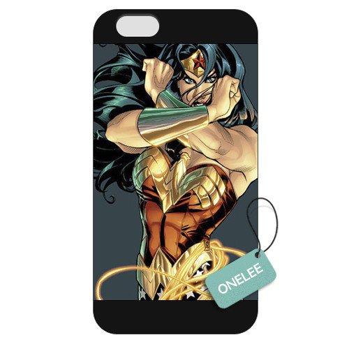 Onelee(TM) - Customized Wonder Women iPhone 6 Plus 5.5 Hard Plastic case cover - Black 10