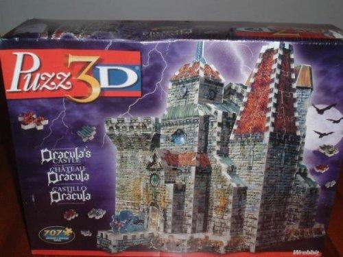 Dracula's Castle Puzz-3d Puzz3d 3d Puzzle Dracula by Wrebbit