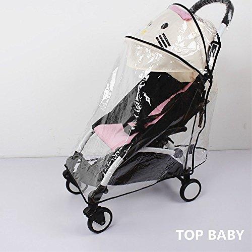 Universal funda impermeable para bebé cochecito lluvia paraguas cochecito viento polvo Escudo cover para carritos, Eva material Weather Shield cochecito ...
