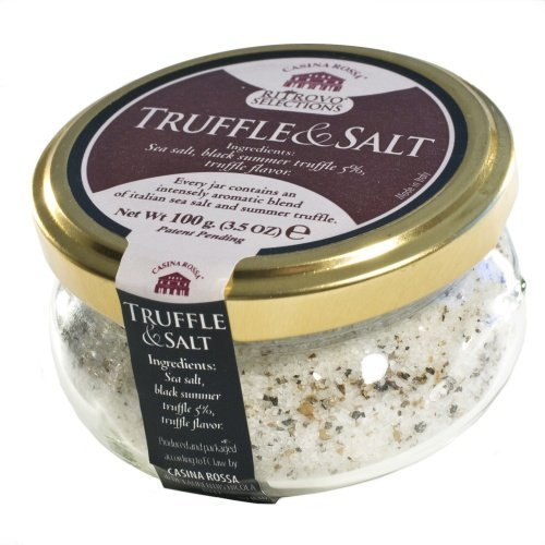 Casina Rossa Truffle and Salt - Premium Gourmet Sea Salt - 3.5oz. by RITROVO SELECTIONS (Image #2)