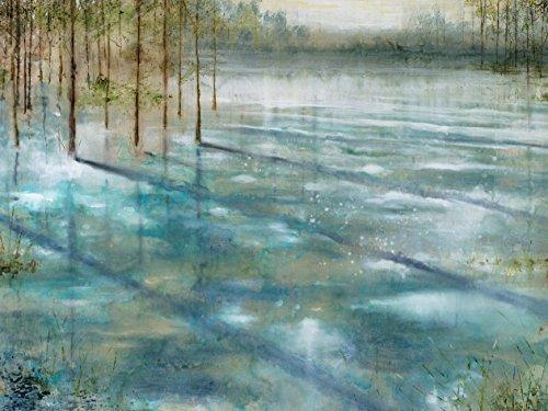 ポートフォリオキャンバスの装飾NCV0628 30×40プリントキャンバスの壁アートの絵画、額縁やストレッチ、ハングアップする準備ができて - 水の木の商品画像