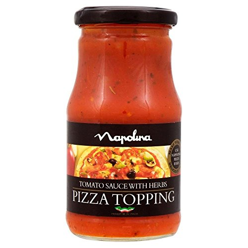 Napolina Tomato Sauce with Herbs - Pizza Topping (300g) - Pack of 6