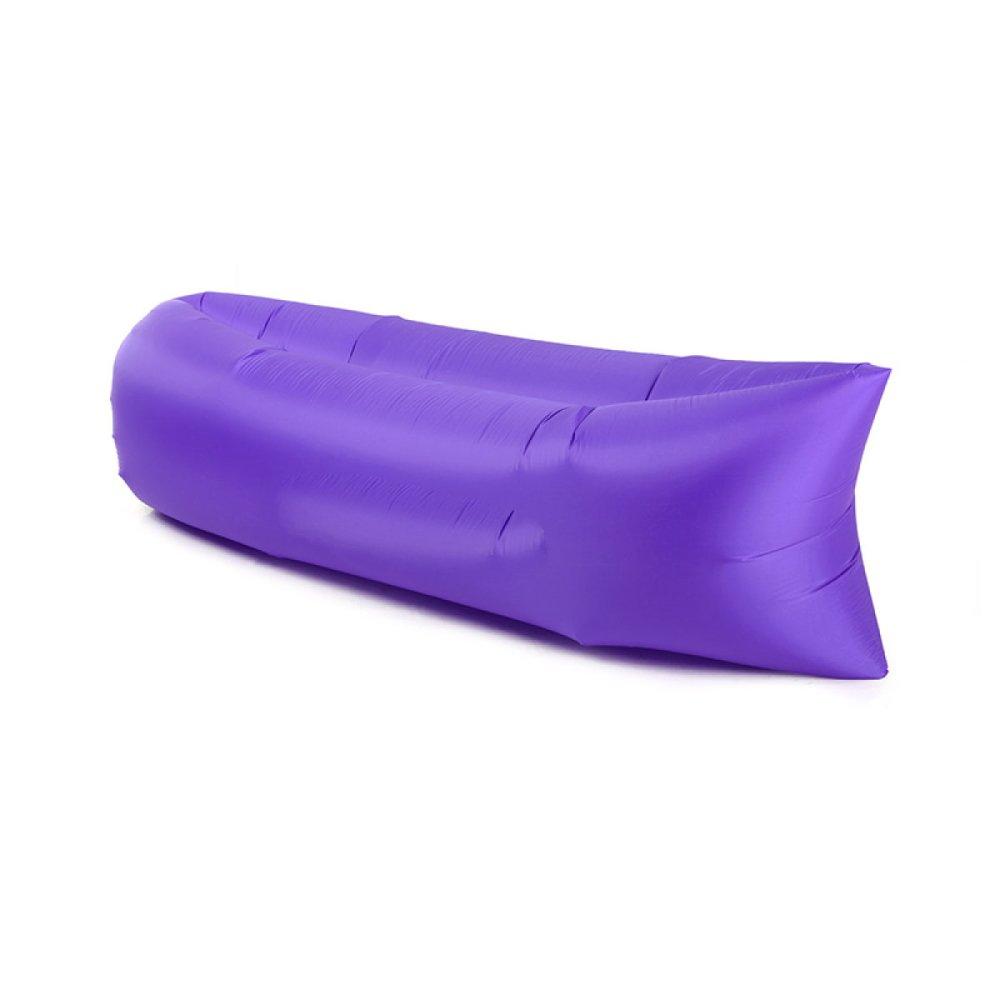 LQQAZY Outdoor-Tasche Sofa Tragbare Luft Sofa Bett Schnell Luftkissen Strand Faul Sofa Aufblasbares Bett,C