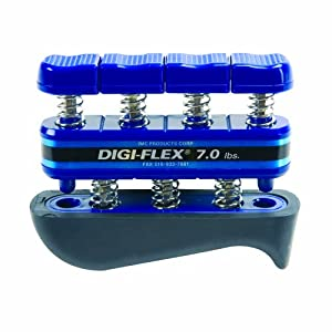 Digi Flex Blue Hand and Finger Exercise System, 7 lbs Resistance