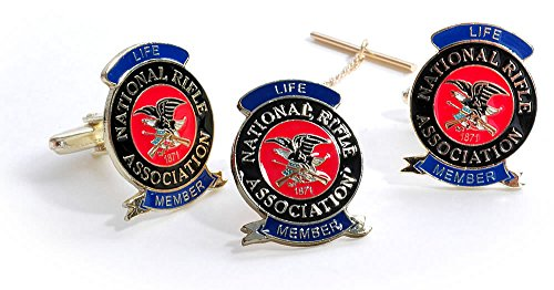 NRA Life Tack Cuff Link