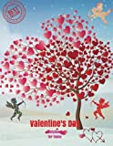 Valentine's Day Sketchbook for Teens: Blank Paper