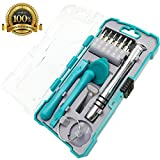 Precision Screwdriver Set with Magnetic Driver Repair Tool Kit for iPhone Andriod Smart Phone,ipad, Tablet PC, Laptop,Computer and other Electronic Devices (18+1)