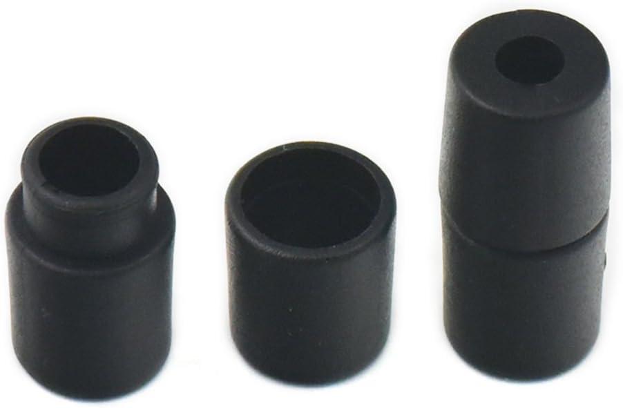 100 Plastic Lanyard Safety Breakaway Barrel Connectors for Necklace Bracelets