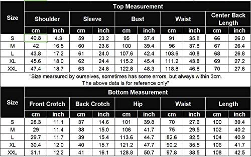 Ekouaer Pajamas Sets Women's Long Sleeve Sleepwear Tops with Long Pants Soft Loungewear Pj Set with Pocket S-XXL