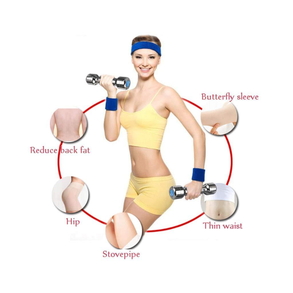 JHEY Mancuerna Par de Hembras de Acero Puro Brazo Delgado Aeróbicos Yoga Fitness Equipment Inicio Practicar el Brazo Músculo Formando Mancuernas: Amazon.es: ...