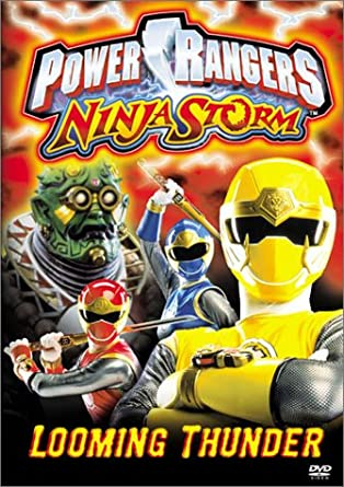 Power Rangers Ninja Storm: Looming Thunder Reino Unido DVD ...