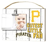 "KH Sports Fan 10""x8"" Pittsburgh Pirates Clip It Weathered Baby Logo Photo Frame"
