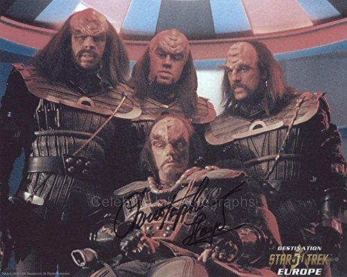 CHRISTOPHER LLOYD as Commander Kruge - Star Trek III GENUINE AUTOGRAPH