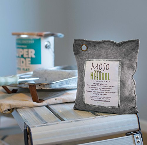 Moso Natural Air Purifying Bag 500-Grams. Natural Color. Natural Odor Eliminator. Fragrance Free, Chemical Free, Odor Absorber. Captures and Eliminates Odors. by Moso Natural (Image #7)