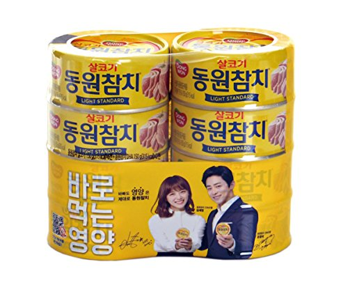 (Dongwon tuna Light 150g (pack of 6), DHA 150g (pack of 2)/동원 참치)