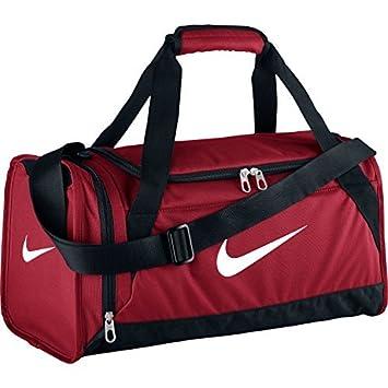 8b4a37401528 Nike Brasilia 6 X-Small Duffle Bag (Gym Red Black