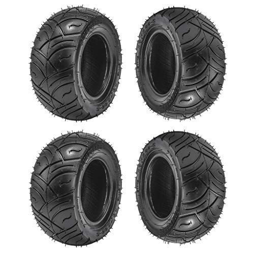 WPHMOTO Go Kart Tires 13x5.00-6 Front or Rear Tubeless Tire 13x5-6 Replacement for ATV Quad Buggy Four Wheeler (4 PCS)