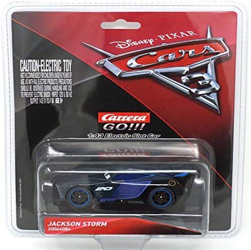 Carrera 64084 Go Disney Pixar Cars 3 Jackson Storm Slot Car Racing Vehicle Multi Toys Games