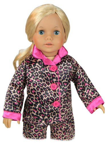Doll Clothing For 18 Inch Doll Pajama Set Amp Doll Slippers