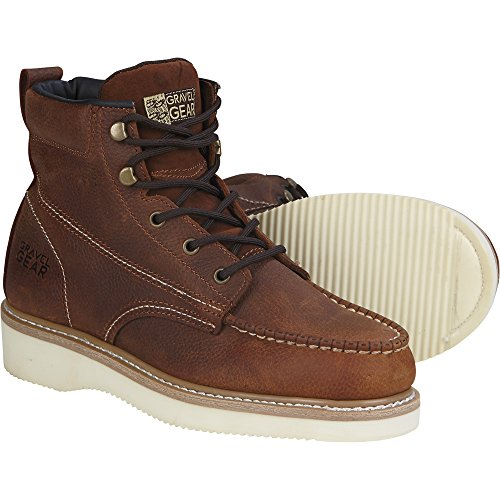 Gravel Gear 6in. Moc Toe Wedge Boot (10.5) by Gravel Gear (Image #1)